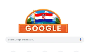 Google celebrates Croatian Independence Day