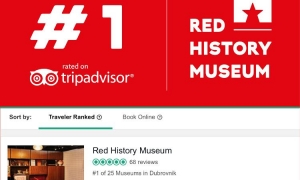 Red History Museum hits first place on Tripadvisor