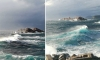South winds blow and bring rolling seas in Dubrovnik