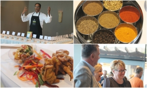 Photo gallery – Indian food spiced up the third day of Good Food Festival