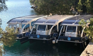 Mljet goes eco-friendly with solar powered boats