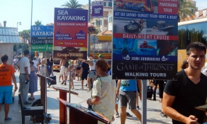 Annual rent of souvenir stand in Dubrovnik an astronomical price
