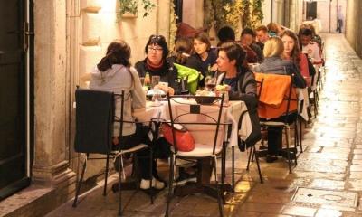 Dubrovnik restaurants doing a roaring Easter trade