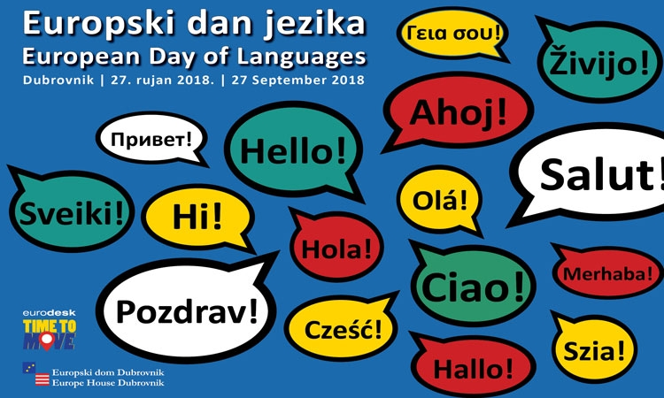 Let's Celebrate European (Linguistic) Diversity in Dubrovnik