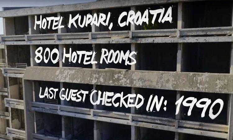 Art is Trash – Kupari gets 133 new guests