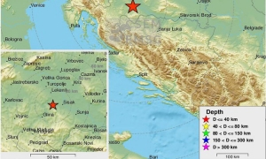 Earthquake strikes central Croatia