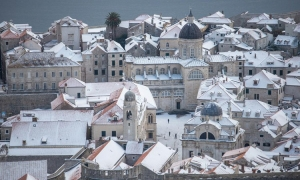 Polar front to bring freezing temperatures to Dubrovnik this weekend