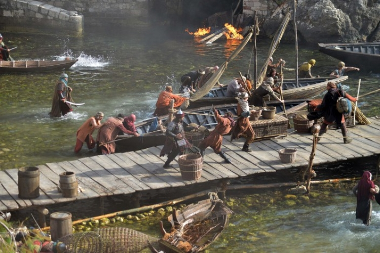 Photo gallery: Filming of Knightfall in Dubrovnik
