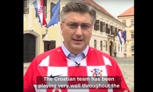 "VIDEO – Croatian Prime Minister speaks to CNN on ""delirious atmosphere in Croatia"""