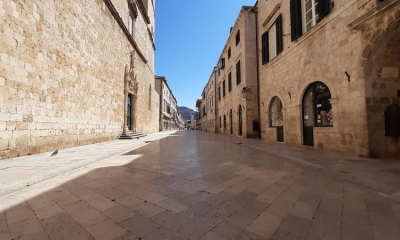 Empty streets of Dubrovnik