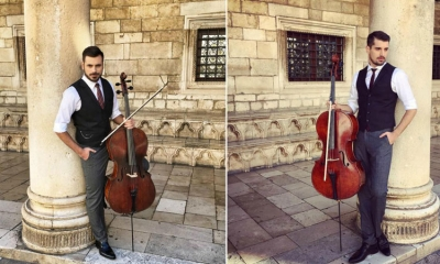 2Cellos filming in Dubrovnik