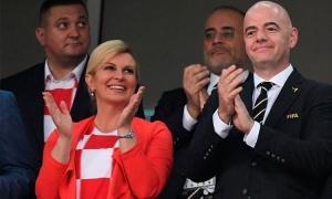 Croatian President leads the celebrations
