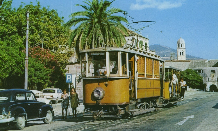 Dubrovnik tramway as it once was