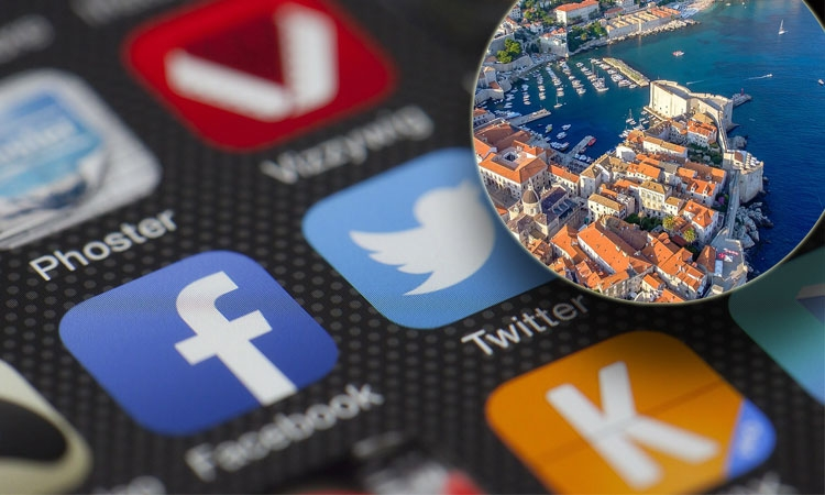 Dubrovnik the darling of the social media scene in Croatia