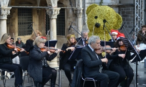 New Year's Day concert in Dubrovnik