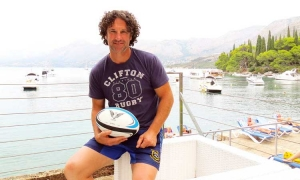 DAVID CASEY - The ultimate man's team sport is rugby