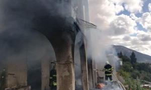 Woman injured in house fire in Zupa