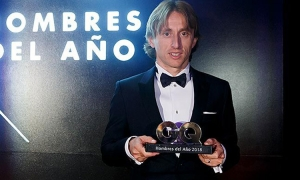 Modrić wins another international award