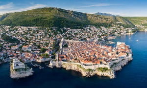 The Guardian places Dubrovnik in third place