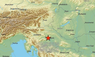 Mild earthquake rumbles Zagreb