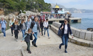 Lokrum is open for another season – adult ticket 120 Kunas