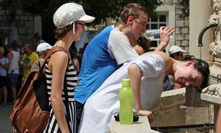 Dubrovnik melts as temperatures rise