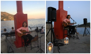 Live guitar Tuesday evenings on Porporela