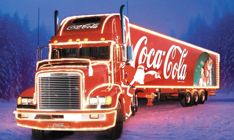 Coca Cola in Croatian Christmas run