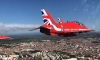 VIDEO – Red Arrows soar over Adriatic coastline
