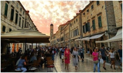 Dubrovnik-Neretva County in March: 73 percent less tourist arrivals