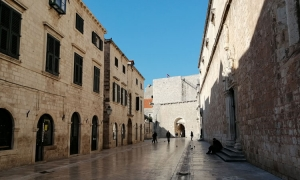 PHOTO – Over tourism certainly isn't an all year round problem in Dubrovnik