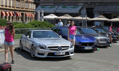 20 million worth of luxury cars in Pink Wing