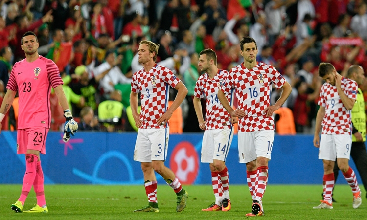 Heartache and tears as Croatia knocked out of Euros 2016