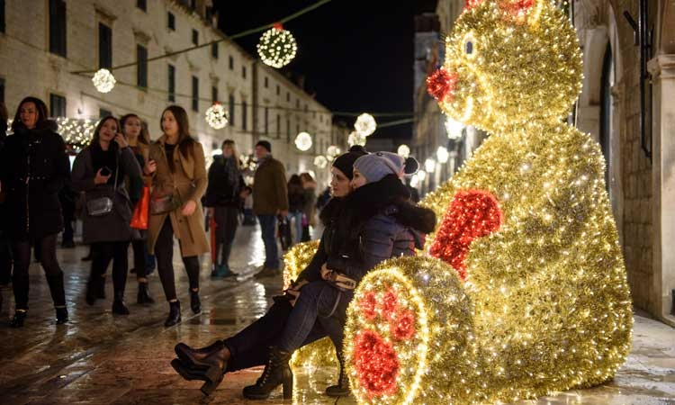 Dubrovnik Teddy Bear always popular at Christmas