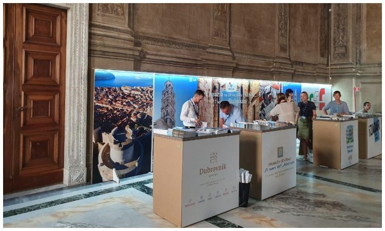 Dubrovnik-Neretva County presented at the UNESCO Cities and Sites fair in Rome