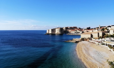 Dubrovnik bathed in December sunshine