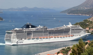 Cruise ship season opens in Dubrovnik today with MSC Orchestra