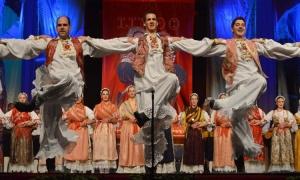 Folklore ensemble Lindo prepares a special Christmas concert