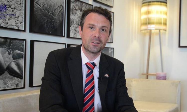VIDEOBLOG - New British Ambassador to Croatia takes to social media