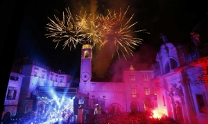 VIDEO – Craziest night of the year in Dubrovnik