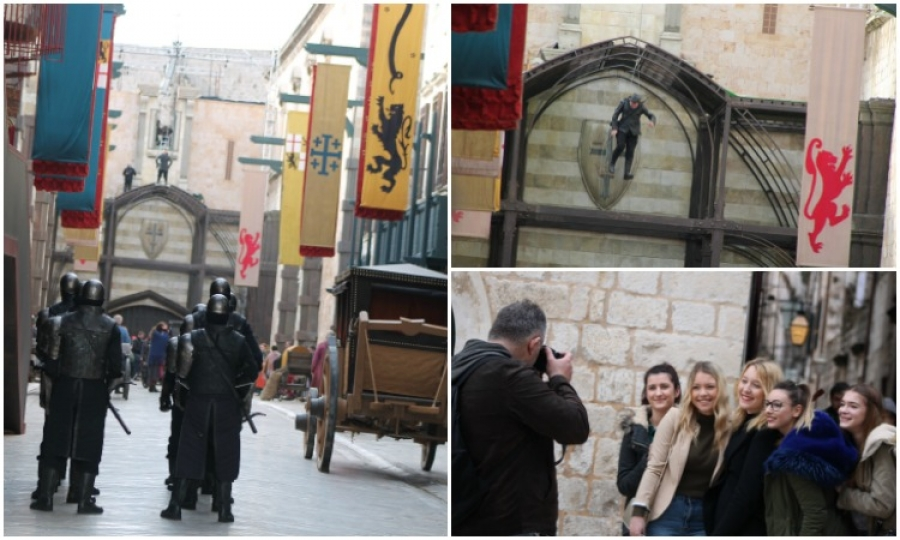Photo Gallery of Robin Hood filming in Dubrovnik