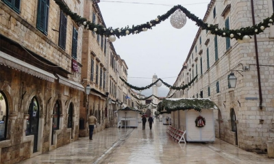 Winter is no festival in Dubrovnik