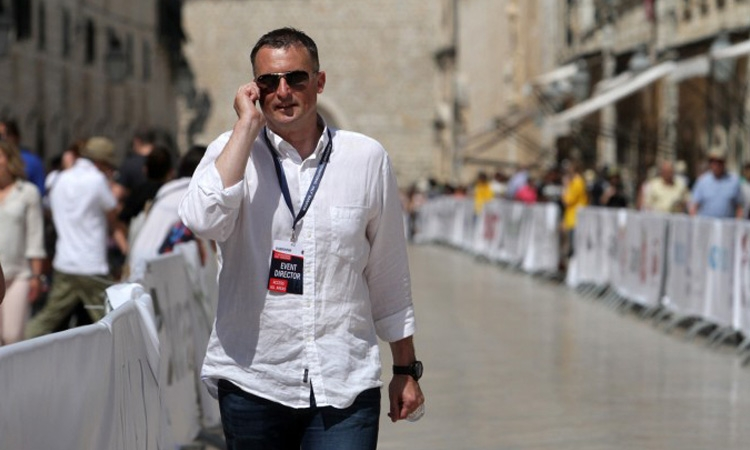 Alen Boskovic – running the Dubrovnik marathon