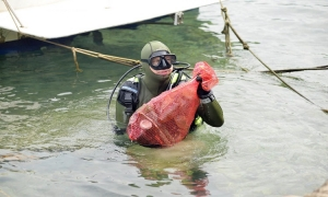 Dubrovnik divers to clean seabed on Sunday
