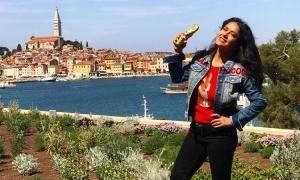 Salma Hayek loving life in Croatia