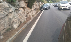 Dubrovnik coastal road again the scene of an accident