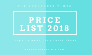 Advertising with The Dubrovnik Times in 2018