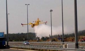 Croatian Air Force fire brigade hit on Israeli twitter