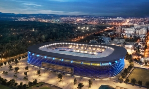 Dinamo Zagreb present new plans for 60 million Euro stadium