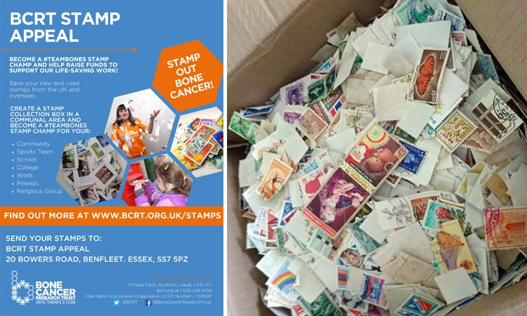 Collect your stamps and help this worthy charity